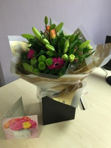 Flowers for Nicola - 3rd March