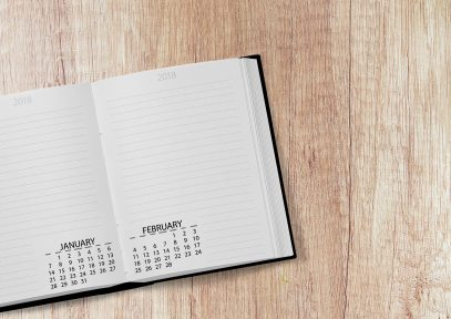 Best time to look for a new job - calendar